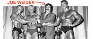 Joe Weider : sponsor eterno del bodybuilding