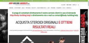 Recensione Test Negozio body-building-anabolics.is